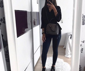 bag, luxury, and outfit image