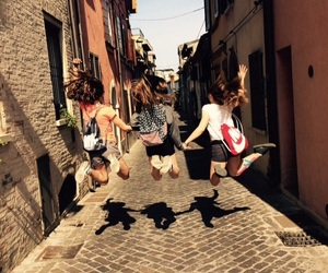 friend, italy, and girls image