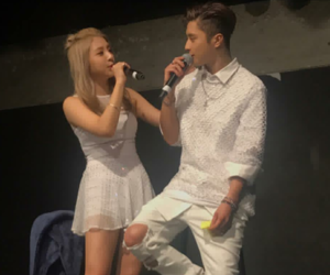 couple, kpop, and jiwoo image