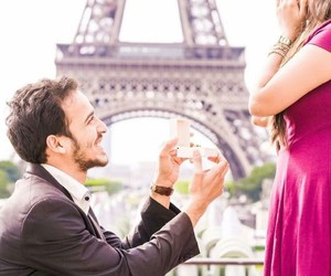 eiffel tower, paris, and proposal image
