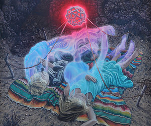 psychedelic art, trippy, and spiritual art image