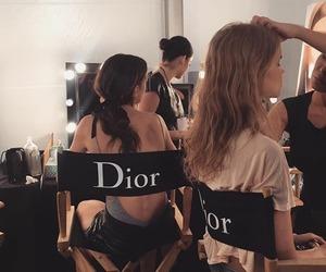 dior, model, and fashion image