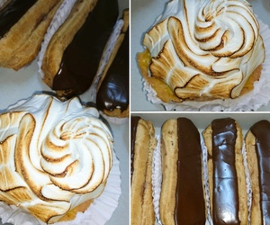 delicious, sweet, and eclair image