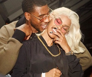 couple, teyana taylor, and bae image