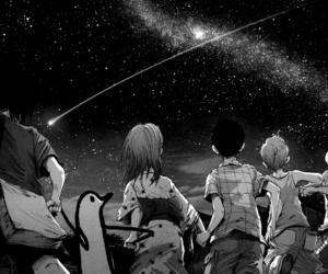 manga, oyasumi punpun, and black and white image