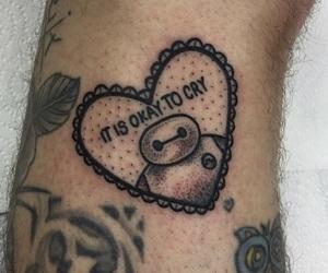 disney, Tattoos, and baymax image