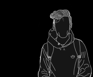 louis tomlinson, louis, and outline image