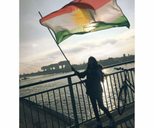 her, kurdistan, and kurdin image