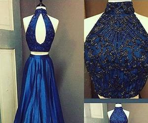 high neck prom dresses image