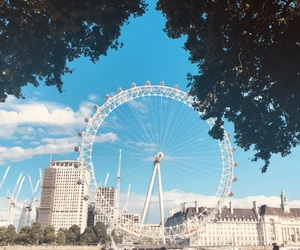 eye, london, and memory image