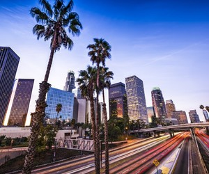 city and los angeles image