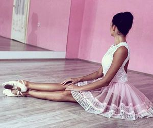 ballet, dance, and lace image