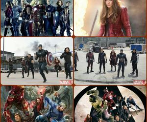Avengers, Collage, and Marvel image