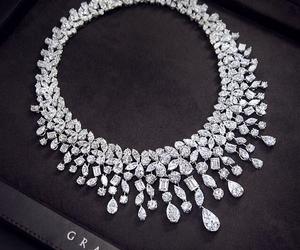 diamond, necklace, and luxury image