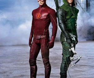arrow, the flash, and DC image