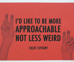 quote, Chloe Sevigny, and text image