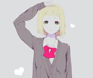 anime, anime school, and anime girl image