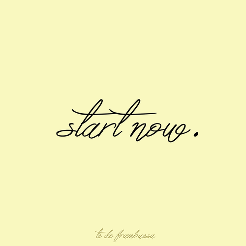 quotes, start, and now image