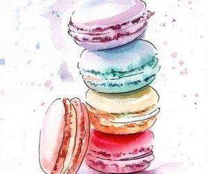 art, food, and sweet image