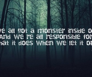monsters, quotes, and the 100 image