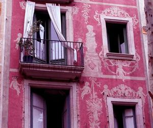 pink, house, and travel image