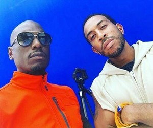 behind the scene, tyrese gibson, and ludacris image