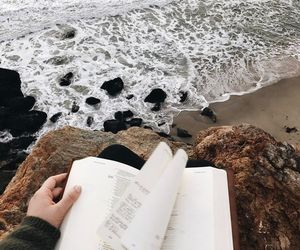 photography, tumblr, and beach image