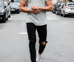 fashion, Hot, and men image