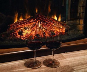 drink, wine, and winter image