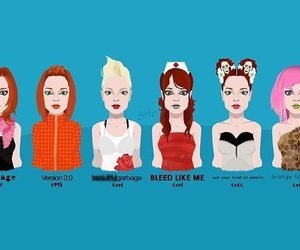 garbage, shirley manson, and bleed like me image