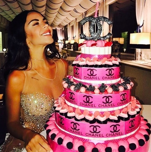 birthday, chanel, and cake image