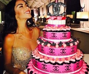chanel, birthday, and cake image