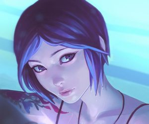 life is strange, chloe, and art image