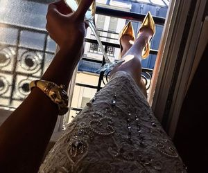 luxury, dress, and style image