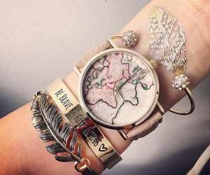 bracelet, clock, and watch image
