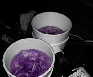 purple, drink, and grunge image