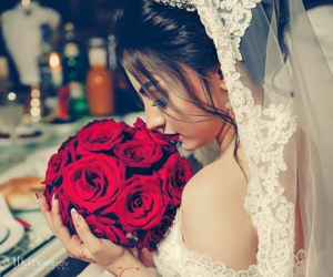 bride, wedding, and عروس image
