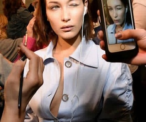 bella hadid, famous, and fashion image