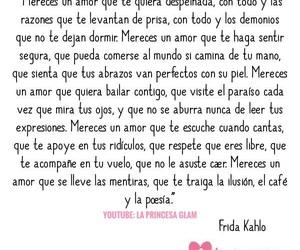 amor, frases, and frida kahlo image