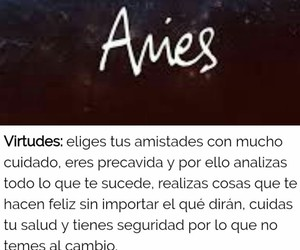 aries, zodiaco, and frases español image
