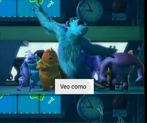 disney, memes, and monsters inc image