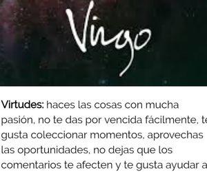 virgo, zodiaco, and frases español image