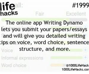 school, essay, and hacks image