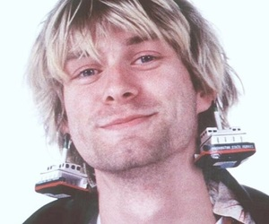 kurt cobain, nirvana, and smile image