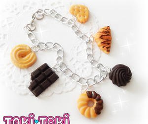 amazing, charm bracelet, and clay image