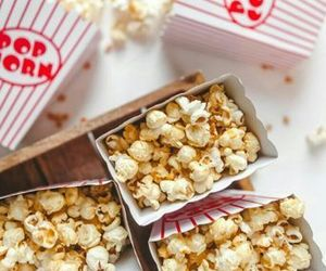 food, popcorn, and tumblr image