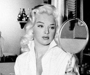 mirror, vintage, and Diana Dors image