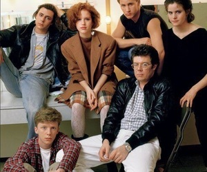 The Breakfast Club, movie, and 80's image