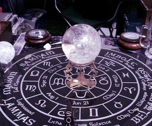 witch, aesthetic, and magic image
