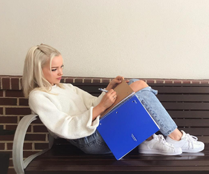dove cameron, blonde, and dove image